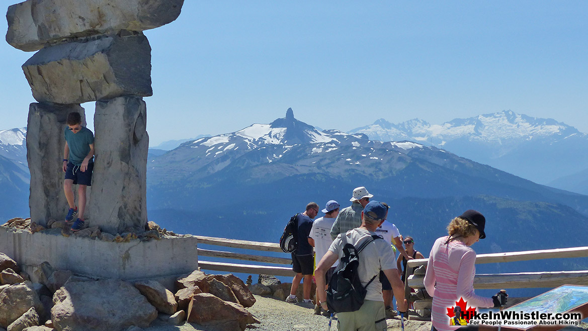 Black Tusk from the Summit of Whistler