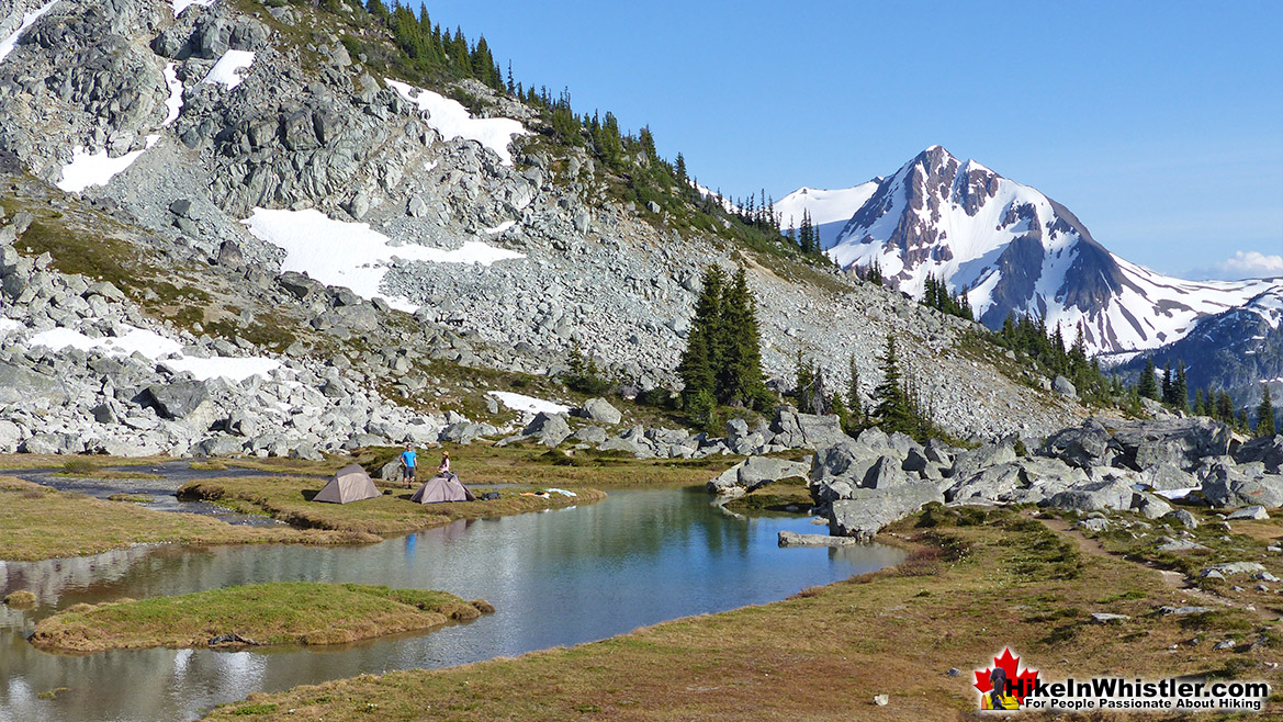 Blackcomb Mountain, Garibaldi Park Camp