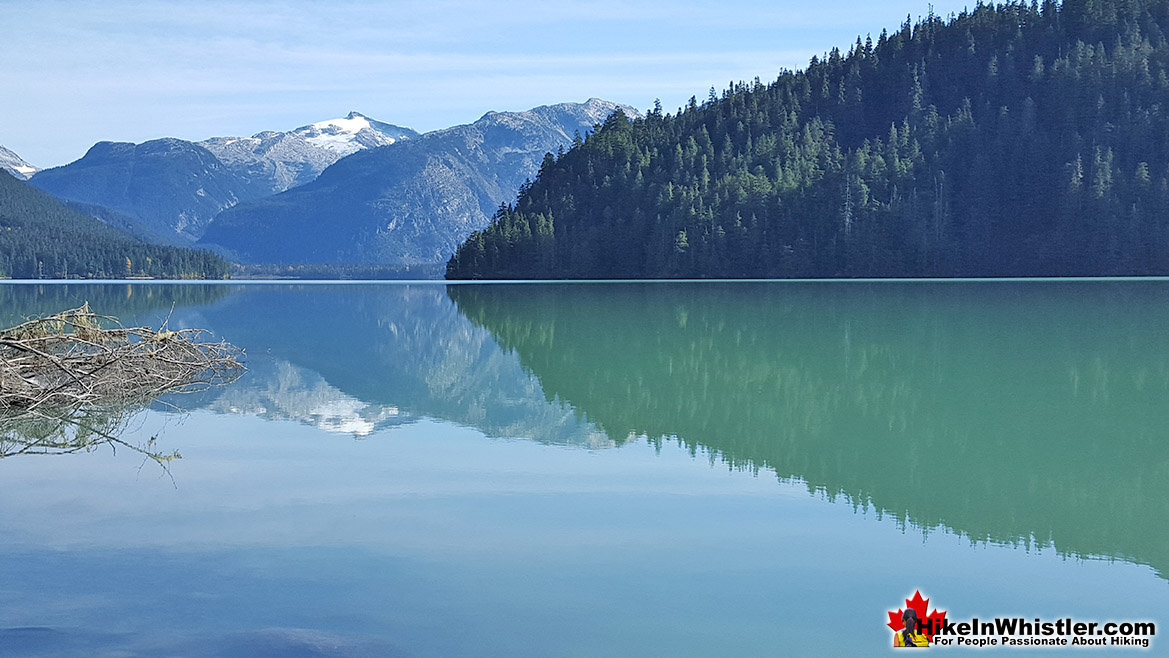 Cheakamus Lake in Garibaldi Provincial Park