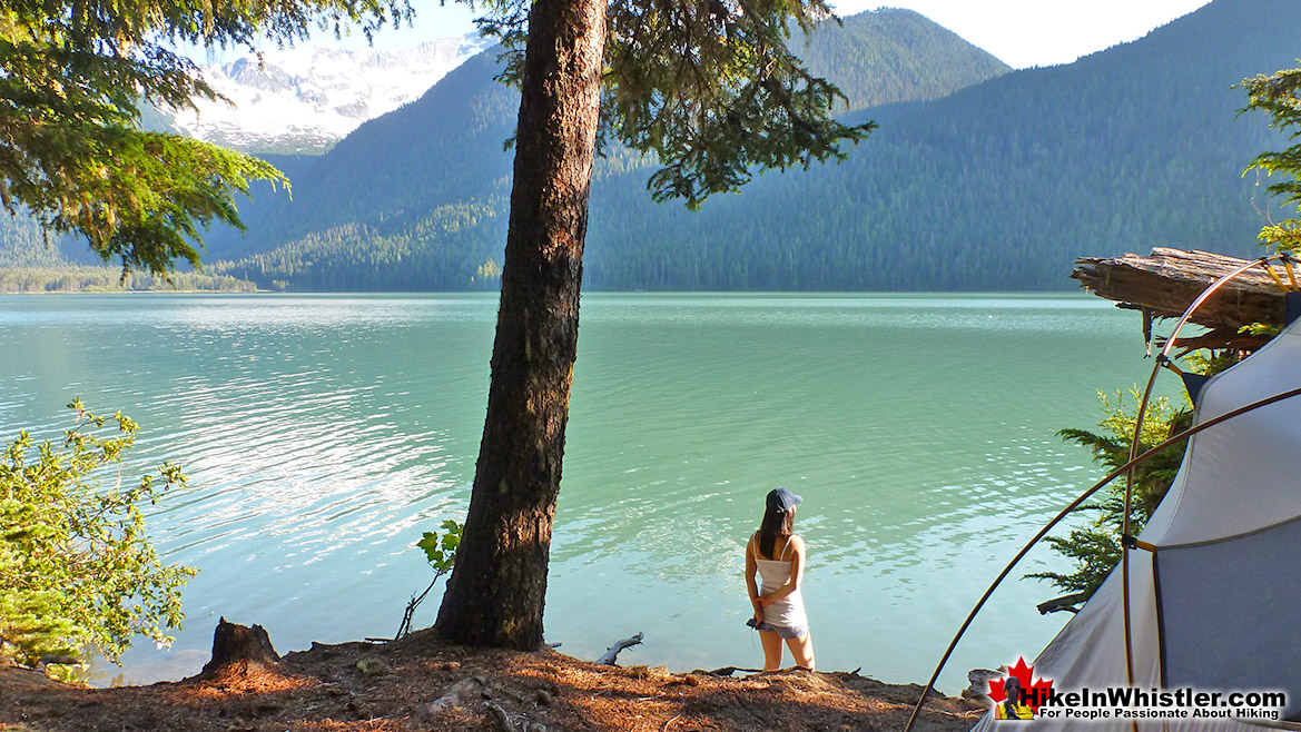 Cheakamus Lake Tent