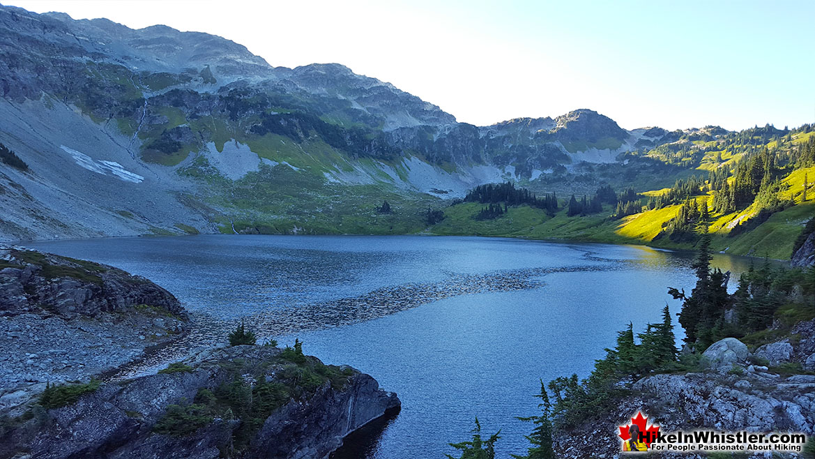 Cirque Lake Hike in Whistler