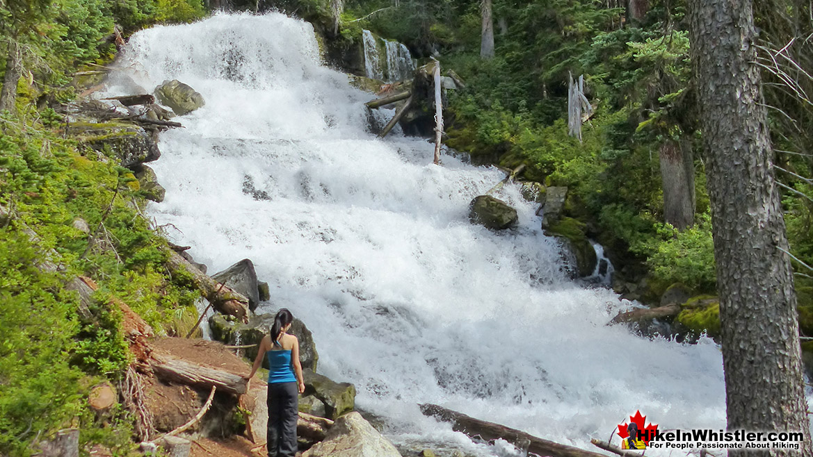 Holloway Falls on the Joffre Lakes Trail