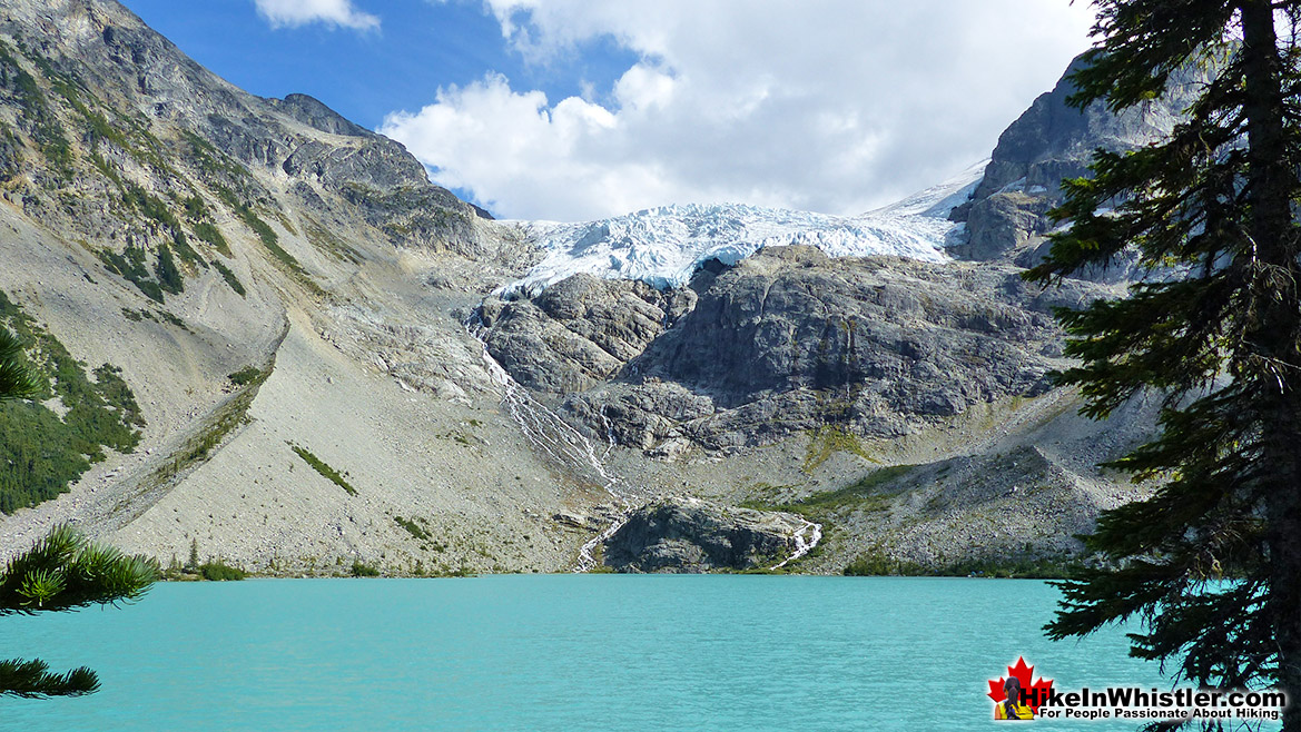 Joffre Lakes View of Matier Glacier