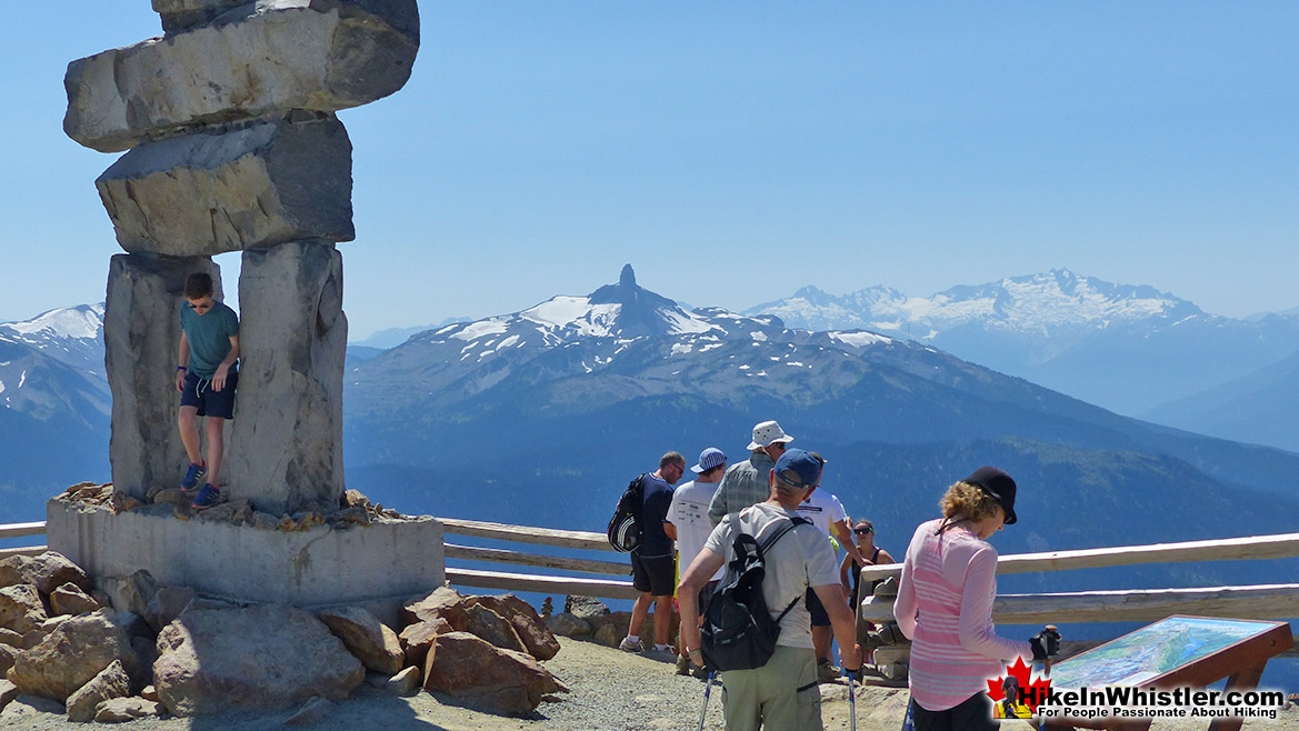 Summit Inuksuk on Whistler Mountain