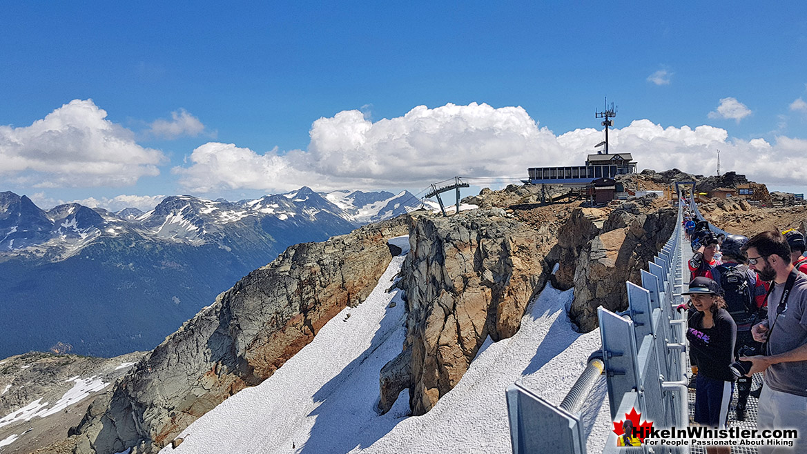 Cloudraker Skybridge on Whistler Mountain